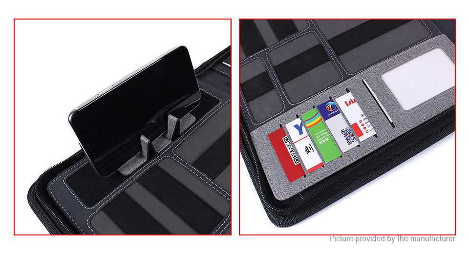 3610 a4 multifunctional mobile power bank card holder