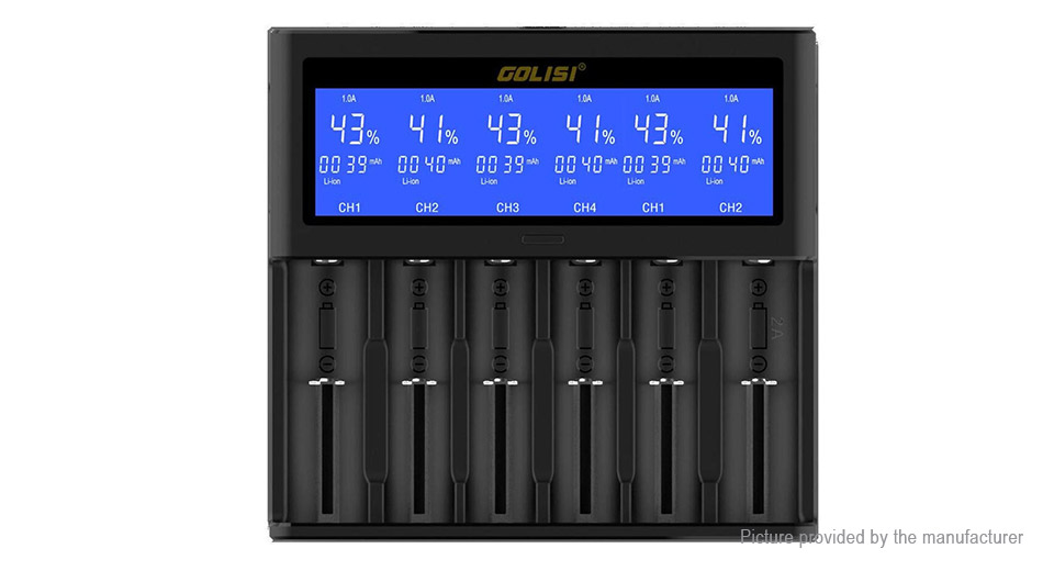 Product Image: golisi-s6-6-slot-smart-li-ion-ni-mh-ni-cd-battery