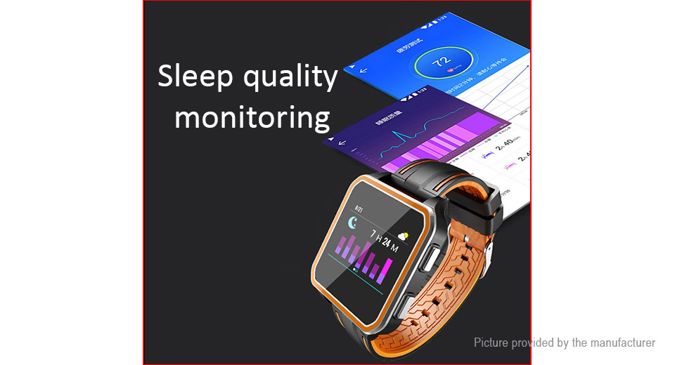 "H11 1.54"" Touch Screen Bluetooth V4.0 Sports Smart Bracelet"
