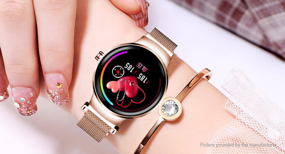 H5 1.04'' IPS Touch Screen Bluetooth V4.0 Lady Smart Watch