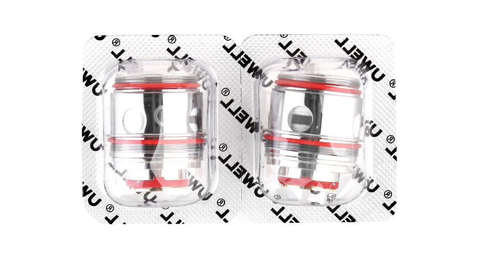 Authentic Uwell Valyrian 2 II Replacement UN2-2 Dual Meshed Coil Head  (2-Pack)