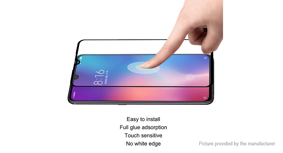 Hat.Prince Soft Tempered Glass Screen Protector for Xiaomi Mi 9 SE (2-Pack)