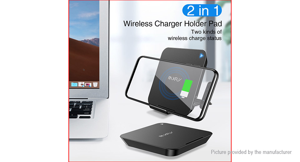 RAXFLY 10W Foldable Qi Inductive Wireless Charger