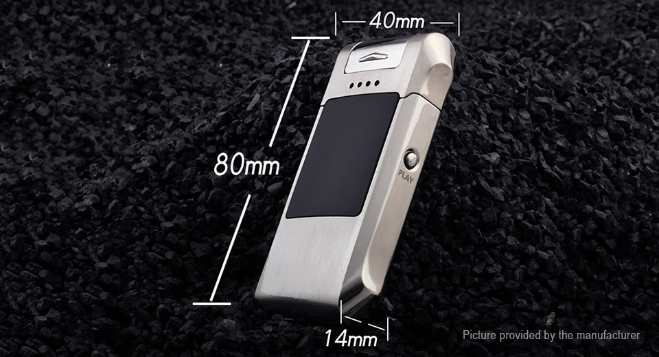 JOBON ZB-888 Double Pulse Arc Electronic Cigarette Lighter