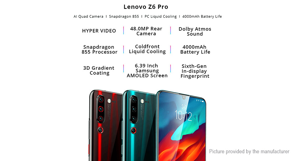 "Authentic Lenovo Z6 Pro 6.39"" AMOLED Octa-Core LTE Smartphone (128GB/EU)"