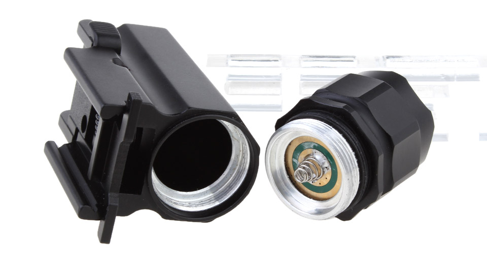 Tactical Quick Release Pistol LED Flashlight