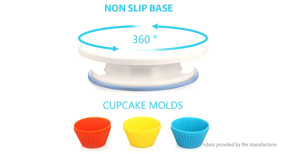 DIY Cake Baking Decorating Tools Supplies Kit (108 Pieces)