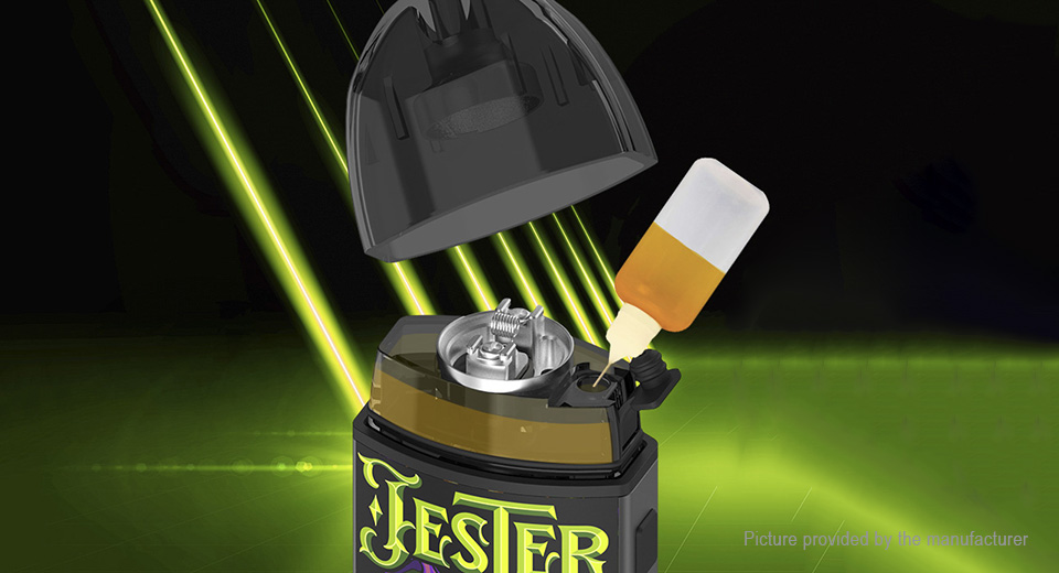 Authentic Vapefly Jester 1000mAh VV Pod System Starter Kit (DIY Edition)