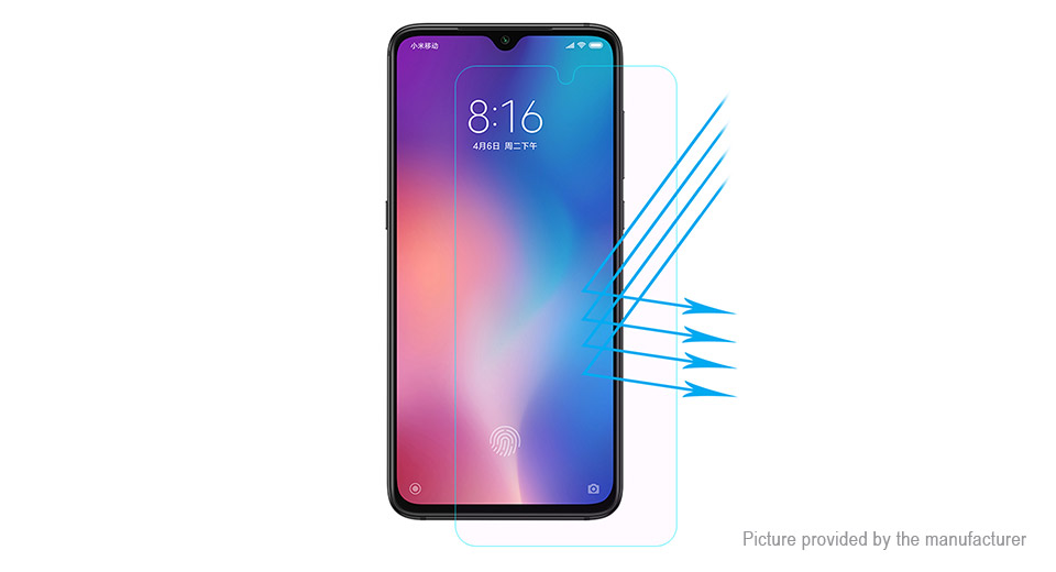 Hat.Prince 2.5D Tempered Glass Screen Protector for Xiaomi Mi 9