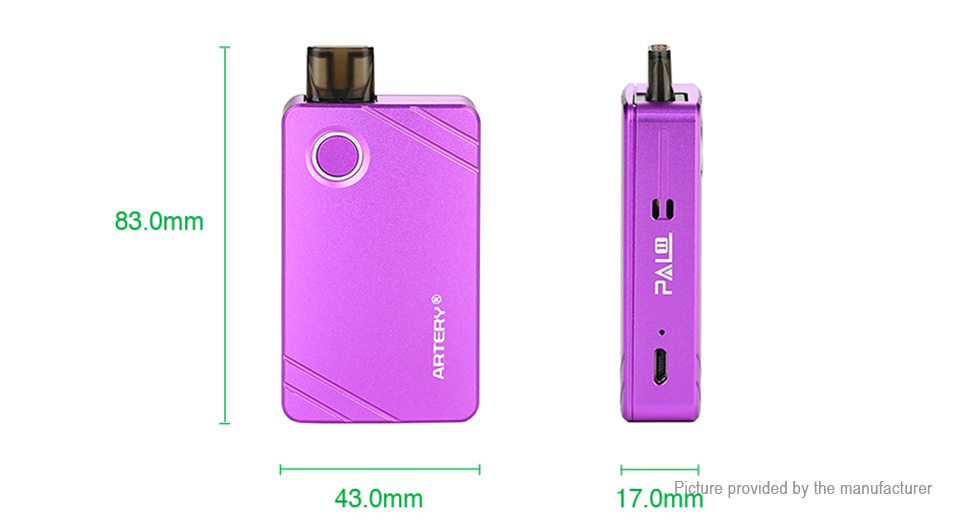 Authentic Artery PAL II 1000mAh Pod System Starter Kit