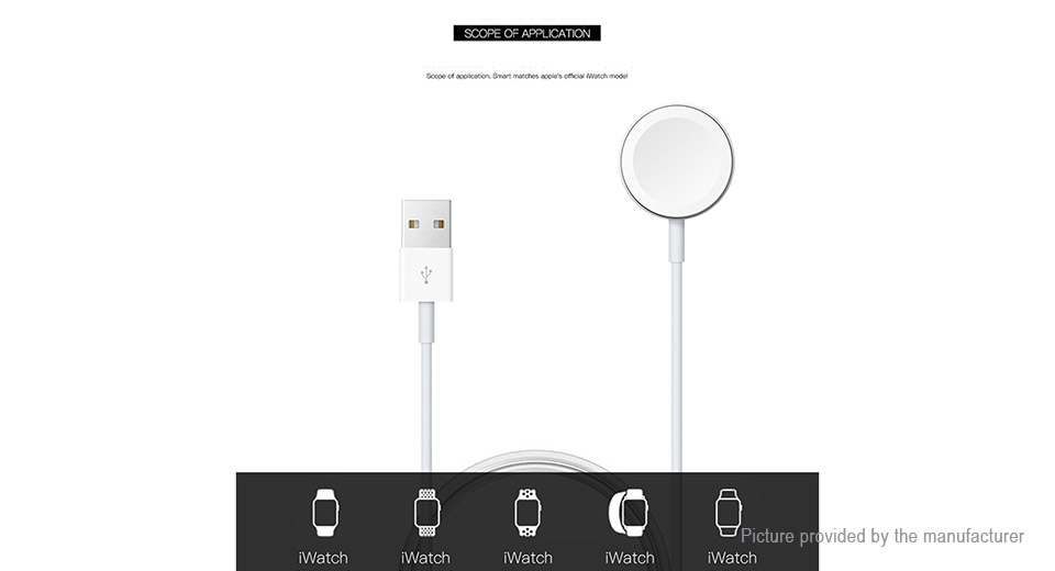 Magnetic Charging Pad Wireless Charger for Apple Watch Series 1/2/3/4