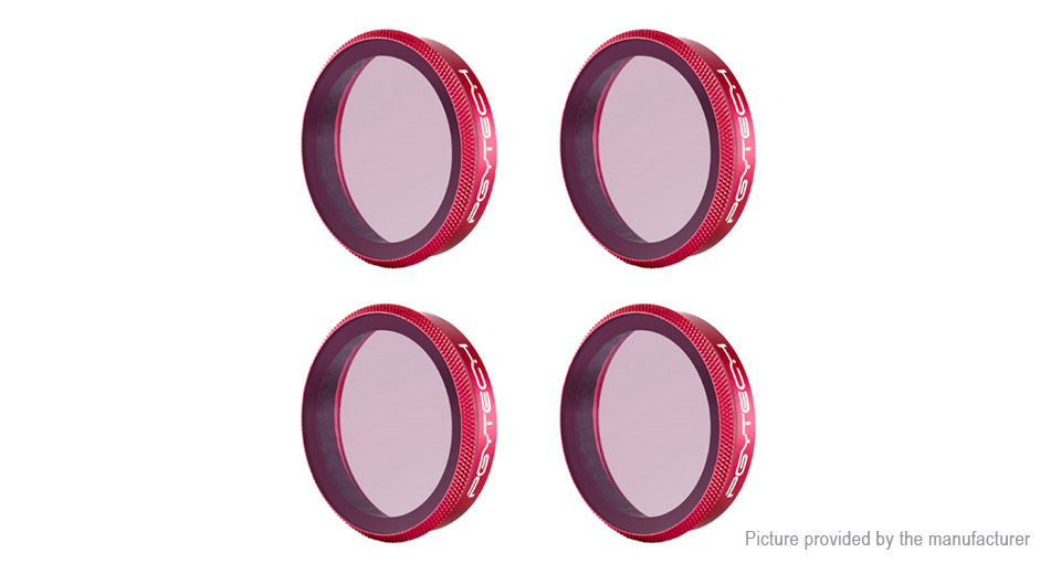 PGYTECH ND Camera Lens Filter Kit for DJI Osmo Action (4 Pieces)