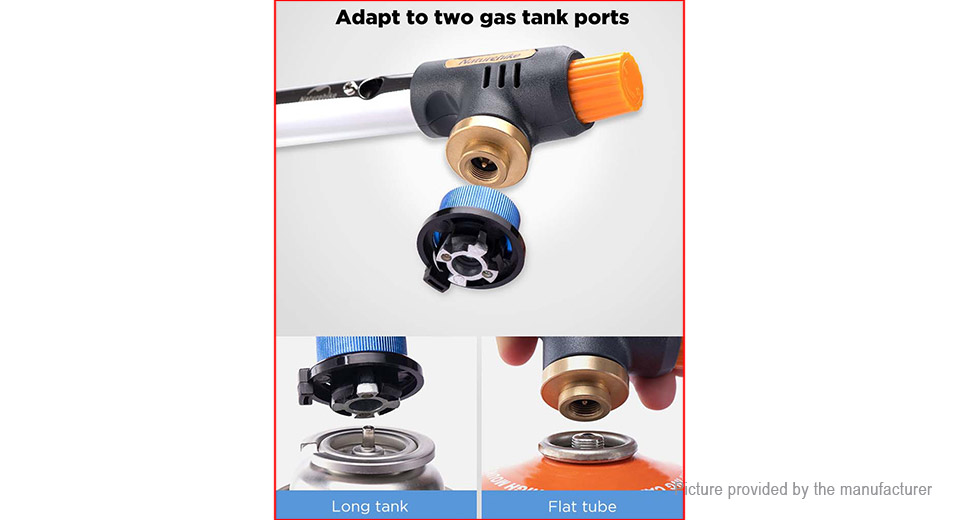 Naturehike Outdoor Camping Butane Gas Lighter BBQ Ignitor Gas Flamethrower