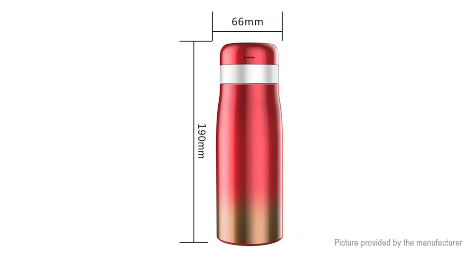 Multifunctional Bluetooth V4.0 Smart Thermos Water Bottle Vacuum Cup for Kids (350ml)