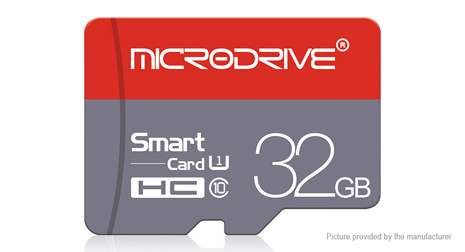Product Image: microdrive-class-10-microsd-memory-card-32gb