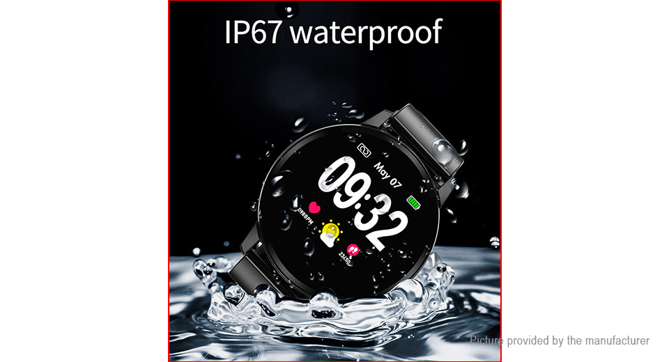 "S01 1.22"" IPS Touch Control Bluetooth V4.0 Sports Smart Watch"