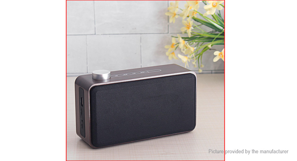 W5A Portable Wooden Bluetooth V4 2 Stereo Speaker Subwoofer
