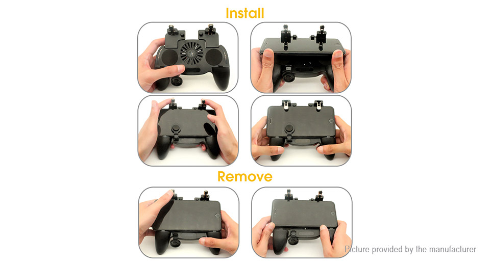 K9 3-in-1 Game Controller Holder + Cooling Fan + Power Bank for Cell Phone