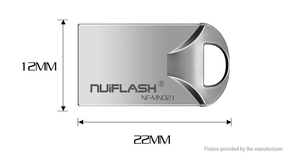 NUIFLASH NF-MN021 High Speed USB 2.0 Flash Drive (32GB)