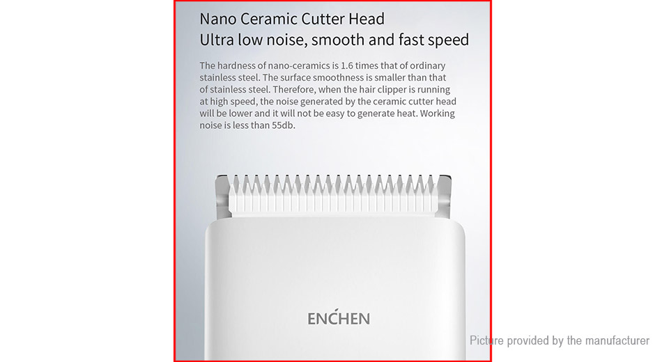 Authentic Xiaomi Youpin Enchen Boost Electric Hair Clipper Trimmer
