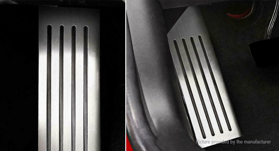 Stainless Steel Foot Rest Dead Pedal Cover for Tesla Model 3