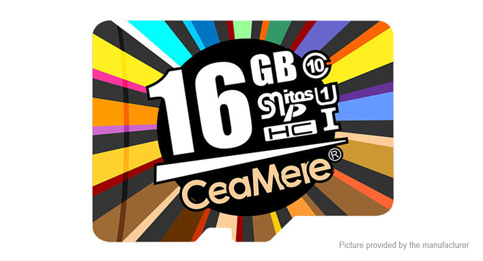 Product Image: ceamere-class-10-high-speed-microsd-memory-card