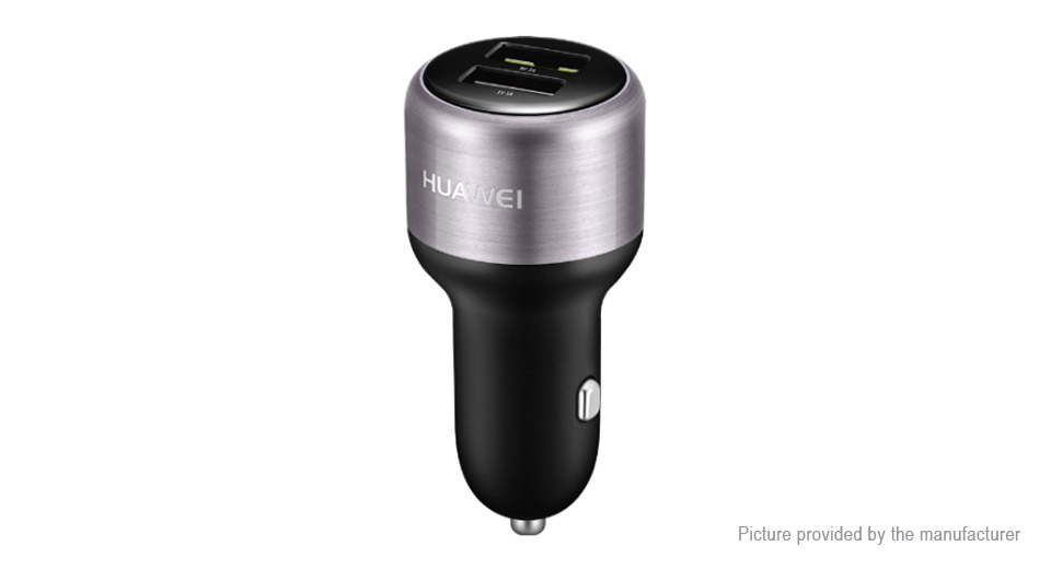 $14 50 Authentic Huawei AP31 Dual USB Car Cigarette Lighter Charger -  18W/2A max  output at FastTech - Worldwide Free Shipping