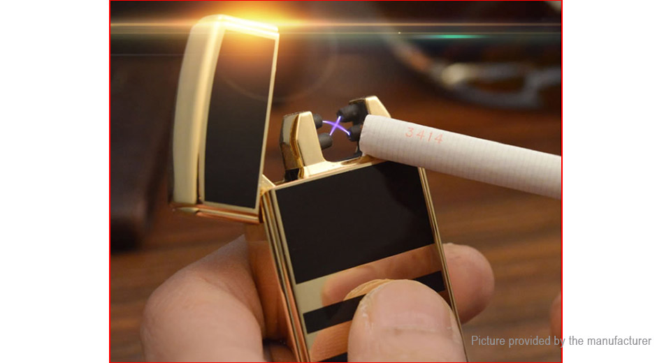 JOBON ZB-389 Double Pulse Arc Electronic Cigarette Lighter