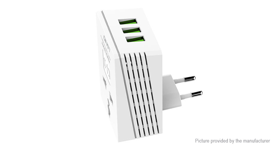 Product Image: ldnio-a3306-3-port-usb-ac-wall-charger-power