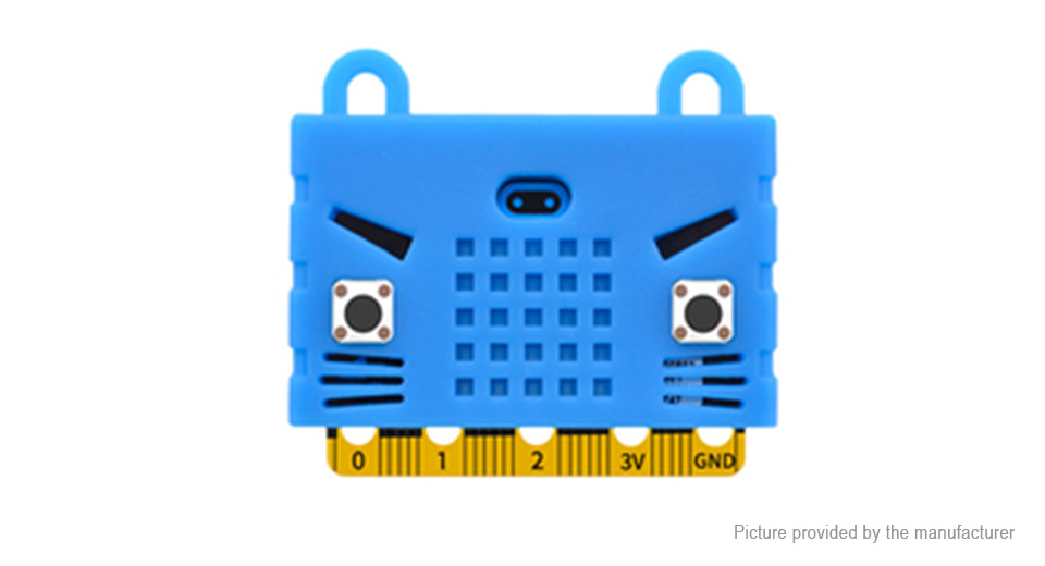 Cartoon Tiger Styled Silicone Protective Case for BBC Micro:Bit