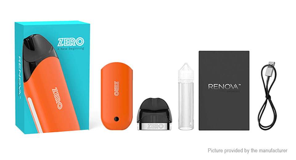 Authentic Vaporesso Renova Zero 650mAh VW Starter Kit (Standard Edition)