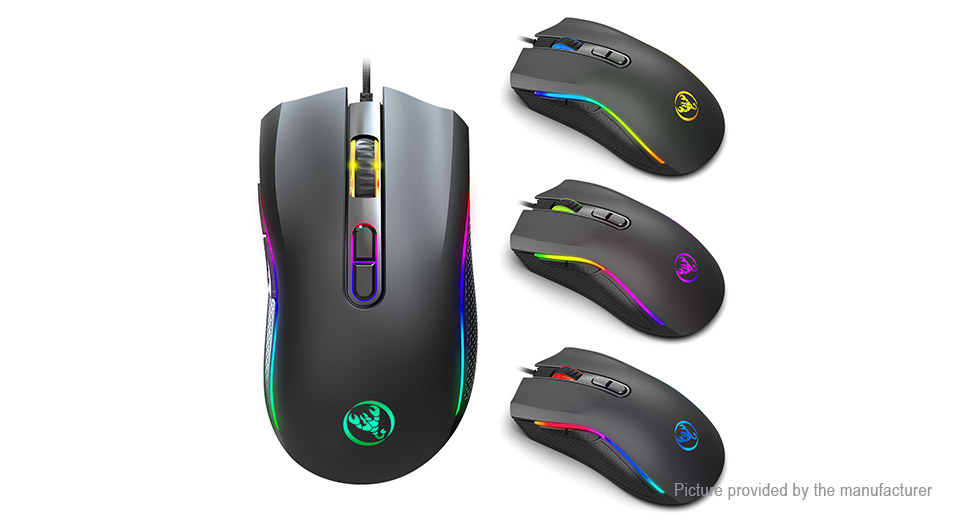 HXSJ A869RGB USB Wired Optical Gaming Mouse
