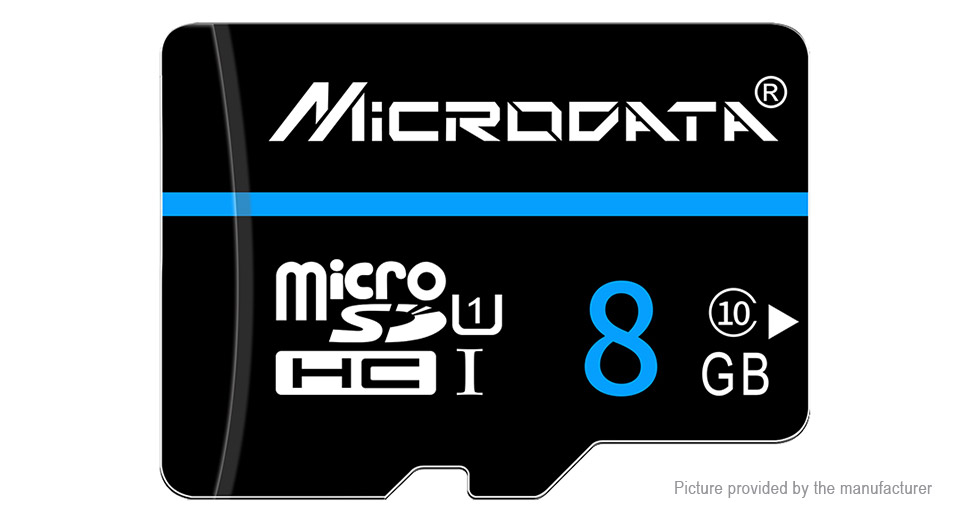 Product Image: microdrive-class-10-microsd-memory-card-8gb
