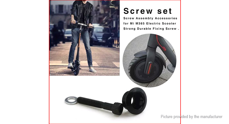 $2 20 Front Fork Fixing Screw Set for Xiaomi MiJia M365 Electric Scooter at  FastTech - Worldwide Free Shipping