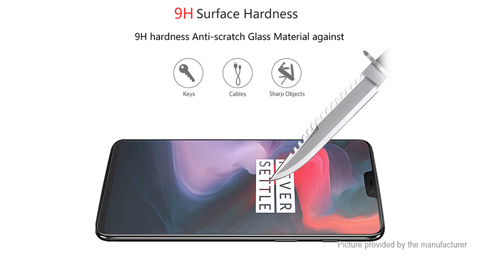 Hat.Prince 2.5D Tempered Glass Screen Protector for Xiaomi Redmi 7A (5-Pack)