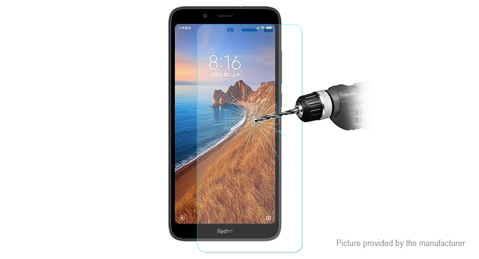 Hat.Prince 2.5D Tempered Glass Screen Protector for Xiaomi Redmi 7A