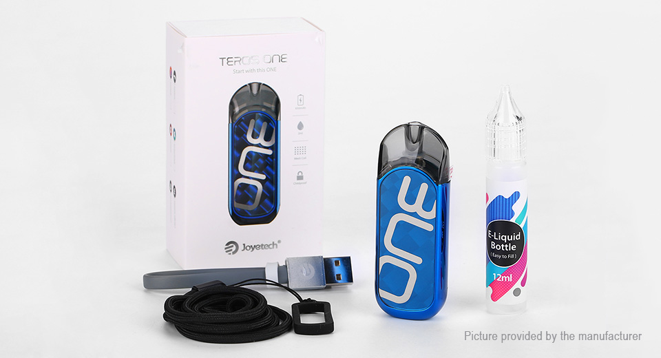 Authentic Joyetech Teros One 650mAh VW Pod System Starter Kit