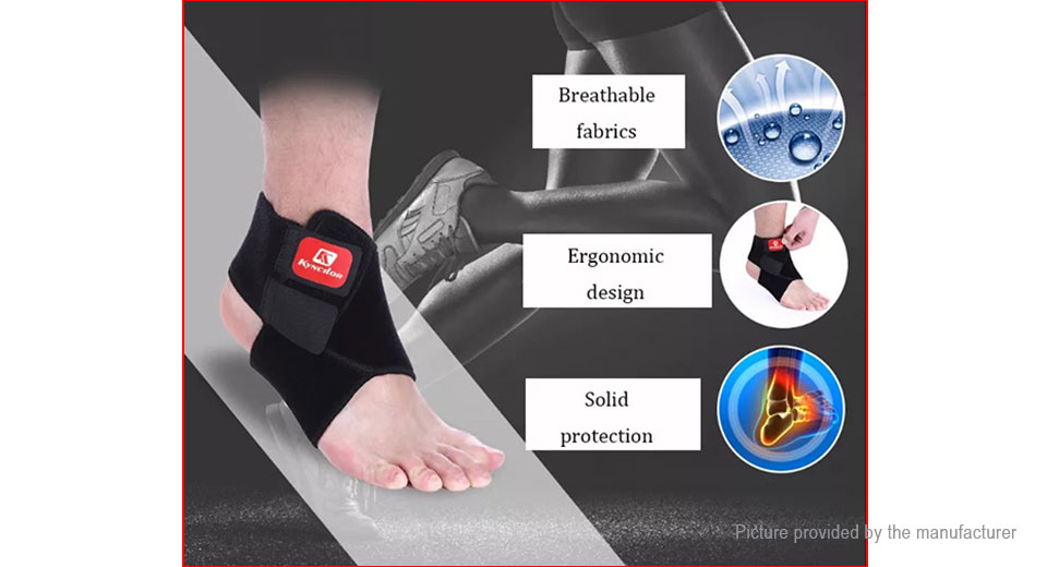 Kyncilor Ankle Support Brace Ankle Guard Protector (Size L)