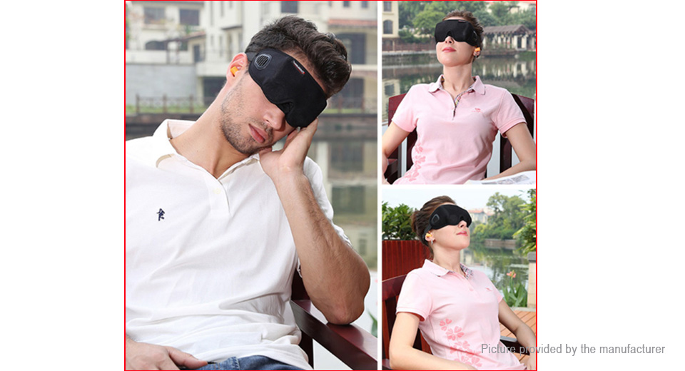 Travelicons 3D Sleeping Eye Mask Eye Shade Eyepatch Travel Nap Cover Blindfold