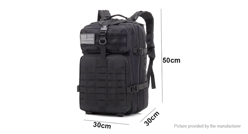 45L Outdoor Tactical Military 3D Molle Rucksack Backpack Traveling Bag