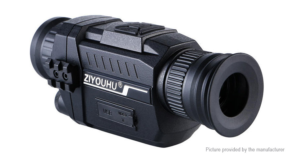 ZIYOUHU 2-in-1 5X 35mm Monocular Telescope 720p Video Hunting Camera