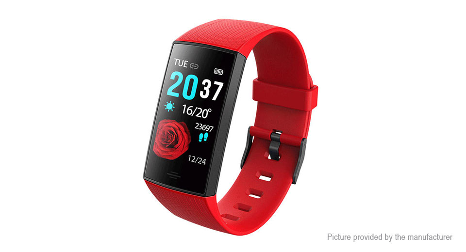 "CY11 1.14"" IPS Touch Screen Bluetooth V4.0 Sports Smart Bracelet"