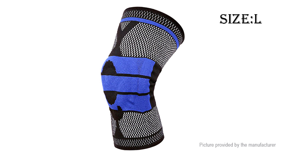 Kyncilor Outdoor Sports Fitness Knee Pad Support Brace Protective Gear (Size L)