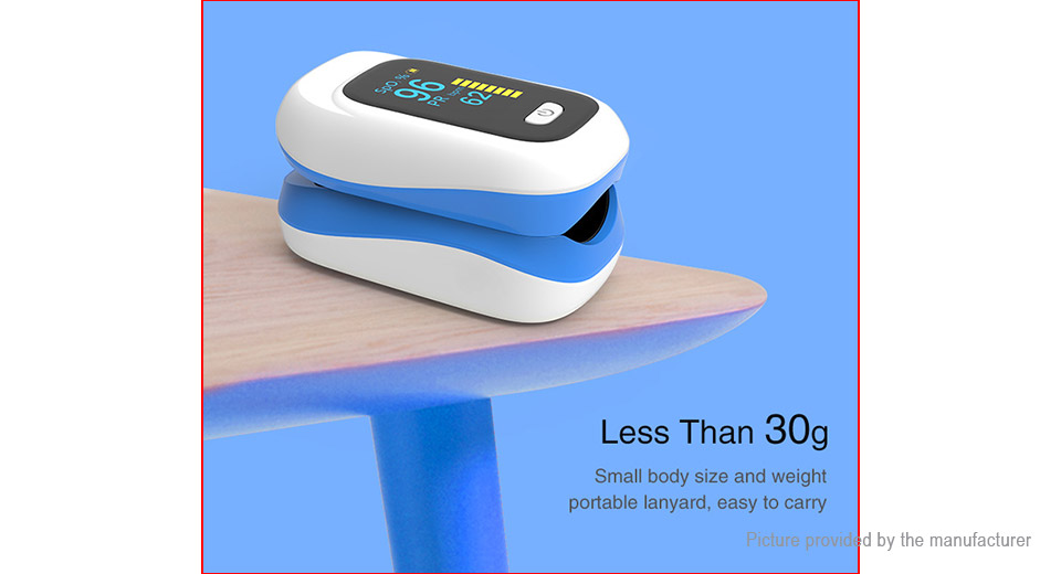Fingertip Oximeter SpO2 Blood Oxygen Pulse Meter Monitor
