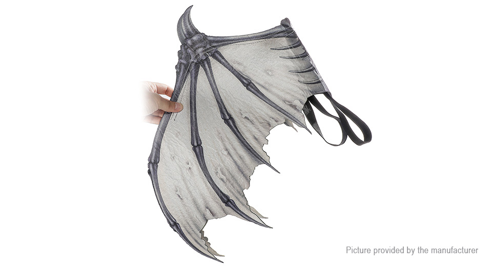 Devil Bat Bone Wings Halloween Cosplay Party Costume Prop