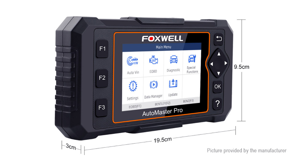 Authentic FOXWELL NT624 Elite OBD2 OBDII Automotive Scanner Car Diagnostic Tool