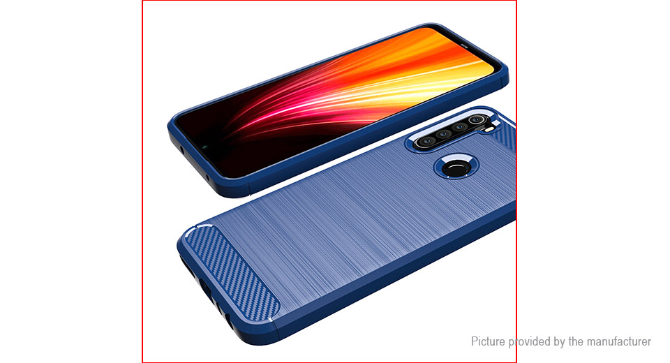 TPU Brushed Protective Back Case Cover for Xiaomi Redmi Note 8