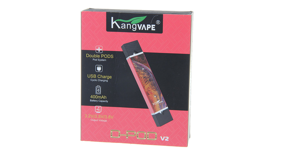 Authentic Kangvape D-pod V2 400mAh VV Pod System Starter Kit