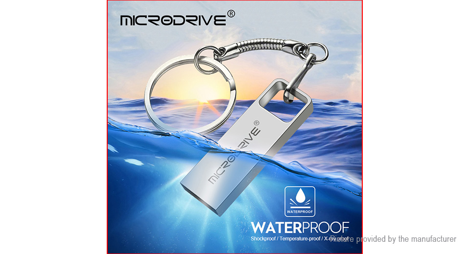 MicroDrive Portable USB 2.0 Flash Drive (128GB)