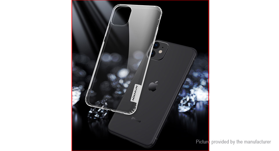 Nillkin Nature Series TPU Protective Back Case Cover for iPhone 11